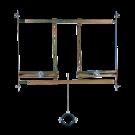 Sanela Rám určený do sádrokartonových konstrukcí pro pisoár s radarovým splachovačem