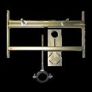 Sanela Rám určený do sádrokartonových konstrukcí pro pisoár s radarovým splachovačem na liště