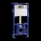 Sanela Rám s nádržkou určený do sádrokartonových konstrukcí nebo pro ukotvení na zem a do zadní zdi, pro zabudování suchým procesem, pro uchycení závěsného WC