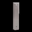 Sanela Nerezový sprchový panel s elektronikou ALS pro přívod tepleně upravené vody, 24V DC