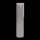 Sanela Nerezový sprchový panel s integrovaným piezo ovládáním pro přívod tepeleně upravené vody, 24V DC