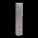 Sanela Nerezový sprchový panel s elektronikou ALS a termostatickým ventilem, 24V DC
