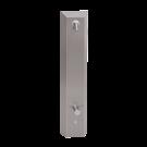 Sanela Nerezový sprchový panel s integrovaným piezo ovládáním a termostatickým ventilem, 24V DC