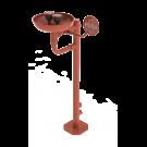 Sanela Volně stojící oční sprcha se dvěma hlavicemi, vaničkou a spouštěcí pákou