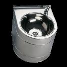 Sanela Nerezová pitná fontánka závěsná s tlačnou armaturou