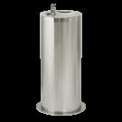 Sanela Nerezová pitná fontánka na podlahu s automaticky ovládaným výtokem, 24V DC