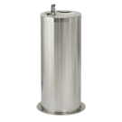 Sanela Nerezová pitná fontánka na podlahu s automaticky ovládaným výtokem, 6V