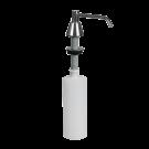 Sanela Zápustný chromovaný dávkovač tekutého mýdla 0,6 l, povrch lesklý
