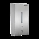 Sanela Automatický nerezový nástěnný dávkovač pěnového mýdla, 0,85 l, matný