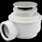 Vaničkový sifon - odtoková souprava click/clack Alcaplast A476