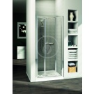 Ideal Standard Connect Sprchové dveře skládací 70 cm - čiré sklo, silver bright (lesklá stříbrná)