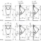 Ideal Standard Urinály Automatická splachovací sada (12V, 50Hz), bílá