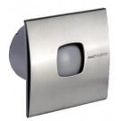 SAPHO SILENTIS 10 INOX T koupelnový ventilátor axiální s časovačem, 15W, 100mm, nerez