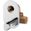 SAPHO Podomítkový regulátor teploty vody pro bidetové sprchy, chrom