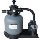 SAPHO Kompletní písková filtrace s čerpadlem, max.11,1m3/h., 6-ti cestný ventil