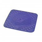 SAPHO PLATFUS podložka 54x54cm s protiskluzem, kaučuk, modrá