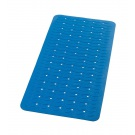 SAPHO PLAYA podložka 38x80cm s protiskluzem, kaučuk, modrá