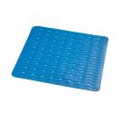 SAPHO PLAYA podložka 54x54cm, s protiskluzem, kaučuk, modrá