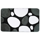 SAPHO PEPPLE předložka 60x90cm s protiskluzem, akryl, černá