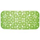 SAPHO MARGHERITA podložka do vany 34,5x72cm s protiskluzem, PVC, zelená