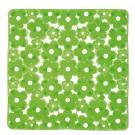 SAPHO MARGHERITA podložka do sprchového koutu 51,5x51,5cm s protiskluzem, PVC, zelená