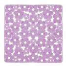 SAPHO MARGHERITA podložka do sprchového koutu 51,5x51,5cm s protiskluzem, PVC, lila