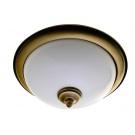 SAPHO GLOSTER stropní osvětlení E27, 2x60W, bronz