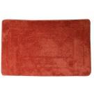 SAPHO Koupelnová předložka, 50x80 cm, 100% acryl, protiskluz, červená