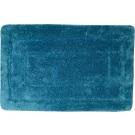SAPHO Koupelnová předložka, 50x80 cm, 100% acryl, protiskluz, tmavě tyrkysová